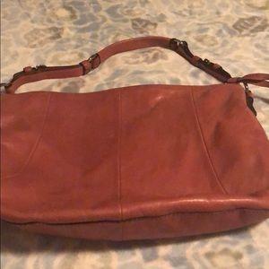 COACH bag. Rose colored.